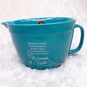 Abbey Gift Woman of Faith Mixing Bowl
